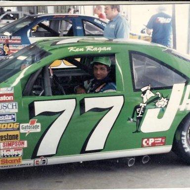 Ken Ragan Winston Cup Daytona 1990