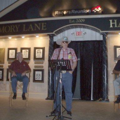 Memory Lane Hall of Fame, 2009