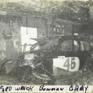 #46 Bowman Gray wreck