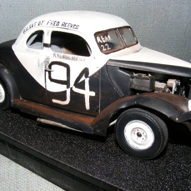 Car 94 Driven by Ralph Harpe, Owned by Fred Reeves