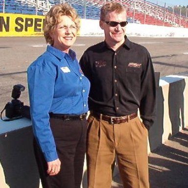 Emailing: Cathy Rice & Jeff Burton at South Boston Speedway