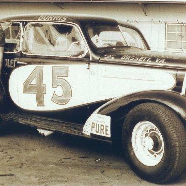 #45 Carl Burris Daytona 37 chevy