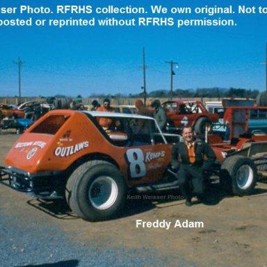 #8 Freddy Adam