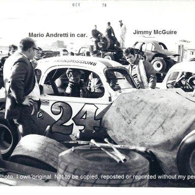 Mario Andretti & Jimmy McGuire