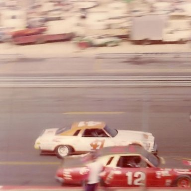 Grant Adcox and Bobby Allison - 70's