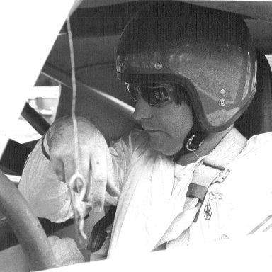 Tim in Race Car