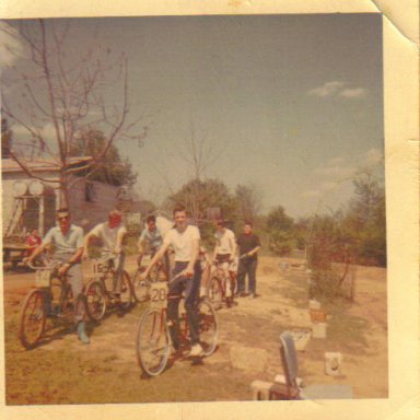 Stock Car Racing Bike Club Nov 1964