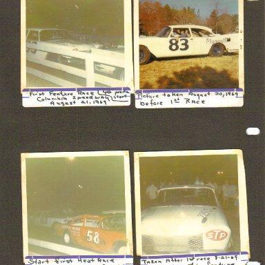 Cola Speedway 8-1969