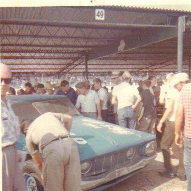 Richard Petty Car, Nov. 1962