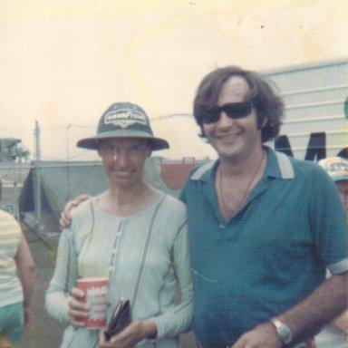 Tim Leeming w Janet Guthrie