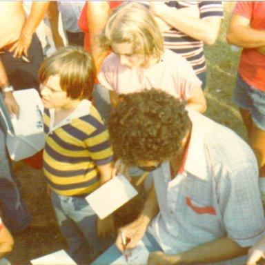 Richard Petty Autograph Session