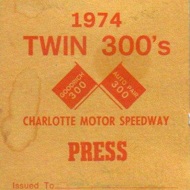 1974 Press Pass