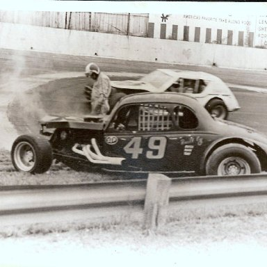 #49 Ernie Faust @ Hickory Speedway
