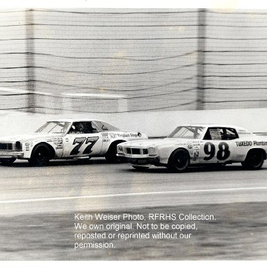 Jan Opperman #77 & Richie Panch #98