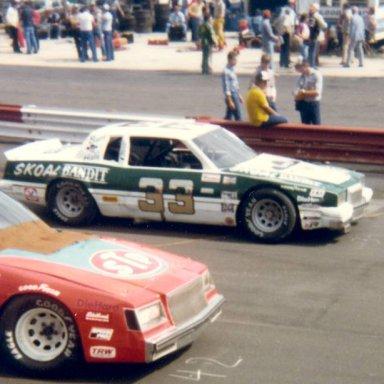 Harry Gant 33 Skoal Bandit at Wilkesboro 1981