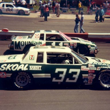 Skoal and Mountain Dew at Wilkesboro April 18, 1982