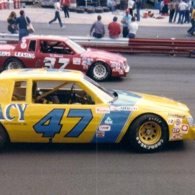 Tim Richmond in 37 at Wilkesboro 1981