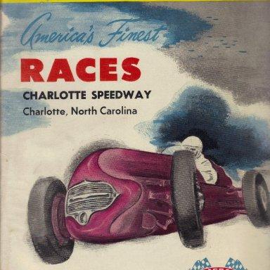 Charlotte Speedway 1952