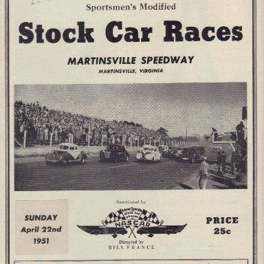 Martinsville Speedway 1951