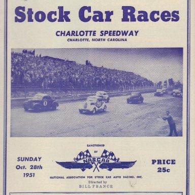 Charlotte Speedway 1951 #2