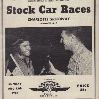 Charlotte Speedway 1951 #3