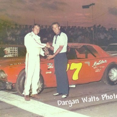 Ned Jarrett & Harry Gant Columbia '72