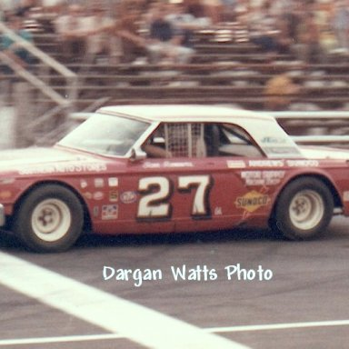 Sam Sommers Columbia Speedway '71