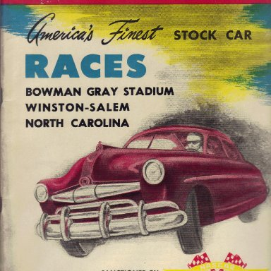 Bowman Gray Stadium 1952