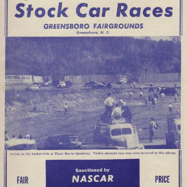 Greensboro Fairgrounds - 1952-53?