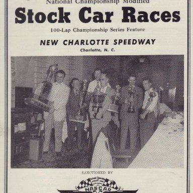 Charlotte Speedway 1950