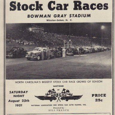 Bowman Gary Stadium 1951