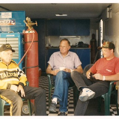 Tom Usry, Earl Sears, and me
