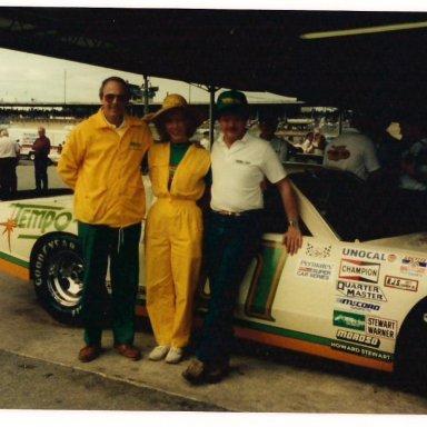TempoGlo car at Daytona