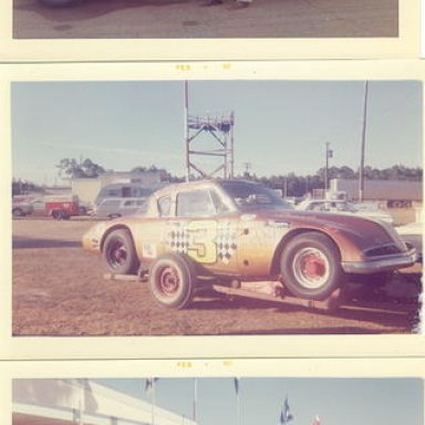 Studebaker Modifieds of Red Farmer _top_ from 1963_ Rene Charland _middle_ in 1962 and _bottom_ from 1963 _Walt Wimer_