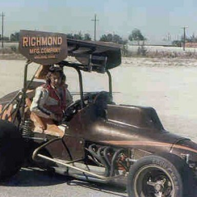 Tim Richmond preps for a NESMRA show in 1975 _Bobby 5X5 Day Photo_