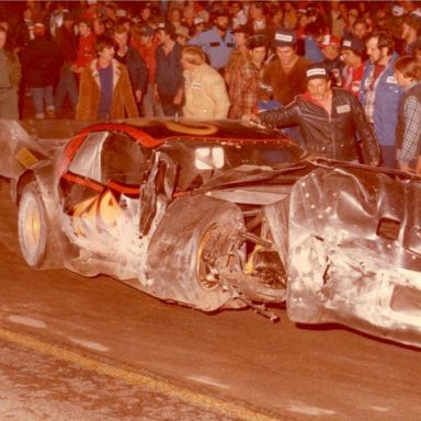 1980 World Series crash that badly injured Gary Balough _Jim Jones Photo - Rodney Barnes Collection_