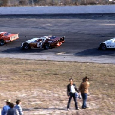 All Pro action - Freddy Fryar leads Randy Couch and Mark Malcuit _Glendenning Photo_