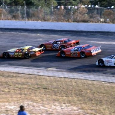 All Pro LM on a Sunday - What a group -  Mike Eddy_ winner Joe Shear_ Jr_ Hanley and David Pearson _Glendenning_