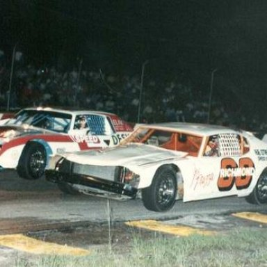 Lake Speed and Tim Richmond in a Celebrity race _Bobby 5X5 Day Photo_