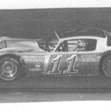 Darrell Waltrip 7-4-81 All Pro race _Jim Jones Photo_
