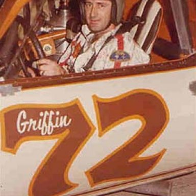 Richie Evans in a Pee Wee Griffin Camaro - 1978