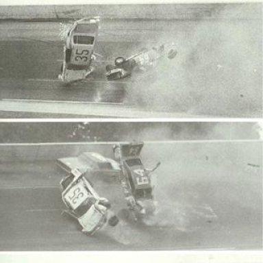 1968 ARCA 300 - Huge crash involving Bobby Mausgrover Jerry Wolland