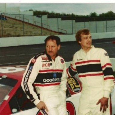 Dale Earnhardt Ronnie Newman and Me @ Pulaski Co. Speedway 1989
