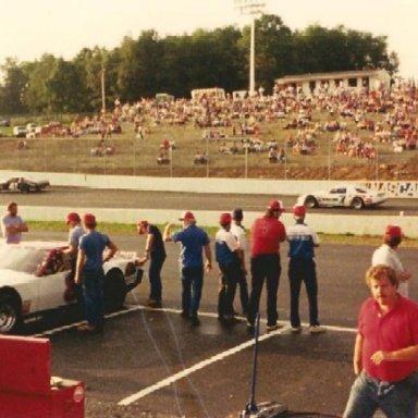 Practice Pulaski Co. Speedway 1988