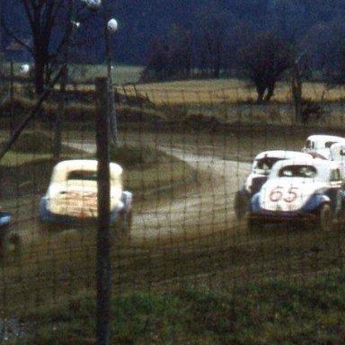Stateline Speedway  North Bennington Vt. 1957