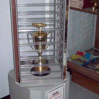 1st NASCAR Trophy - Jim Roper
