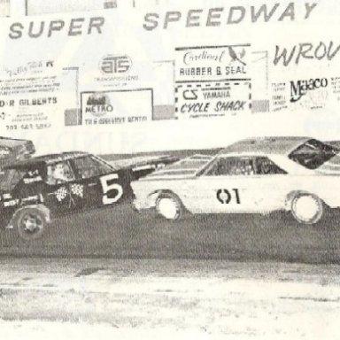Racing @ FCS  1985 Andy's car