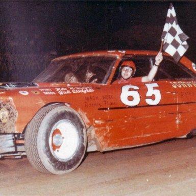 Jim Gerber `64 Ford 1968 Peoria Speedway