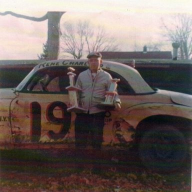 #19 Figure 8 Car Rene Charland
