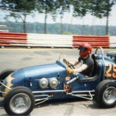 #25 Rick Holmberg Former Mario Andretti Offy Midget